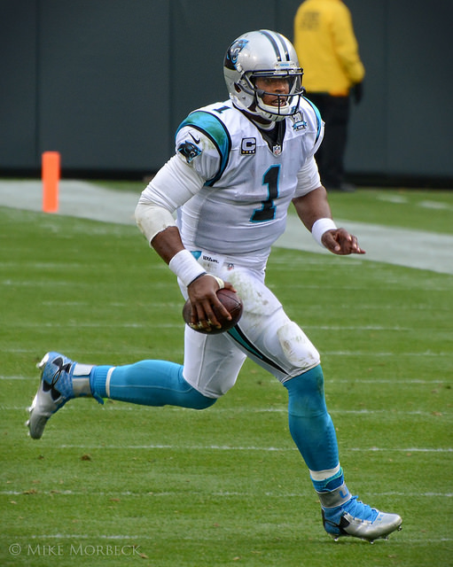 Sports_CamNewton_ PRO Mike Morbeck_flickr