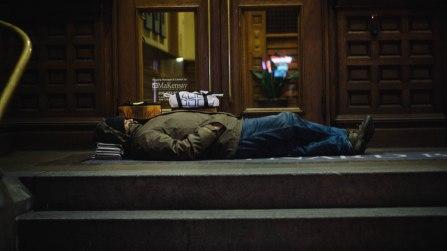 opinions-kaetlyn-dembkoski_40-degrees-sleeping-on-newspaper-and-concrete_kid-clutch_11-28-12_flickr