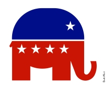 Opinions_Andrew Oliver_ Republican Elephant - Icon_DonkeyHotey_10.19.11_Flickr