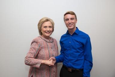 Opinions_ZackaryWiggins_Me with Hillary_Zackary Wiggins_personal.jpg
