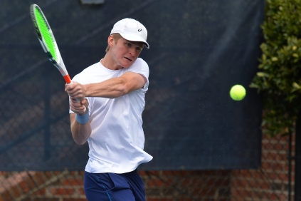 NCAA TENNIS:  MAR 19 ETSU at UNC Greensboro