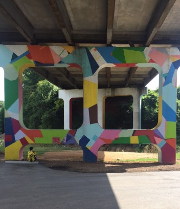 A&E, 823, Public Art, Danielle Anderson, Photo Credit- Danielle Anderson, Artwork named- -ColorHaus-