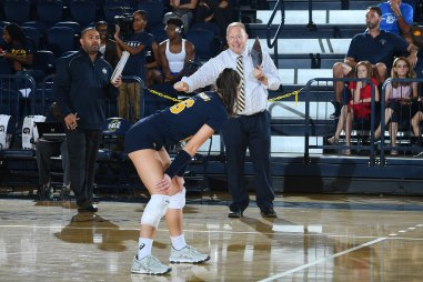 NCAA WOMENS VOLLEYBALL:  AUG 26 Wake Forest at UNC Greensboro