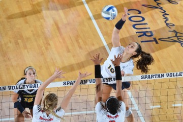 NCAA WOMENS VOLLEYBALL:  SEP 03 Youngstown State at UNCG