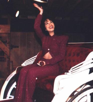 A&E, 104, Hispanic Heritage Month, Ty'Shae' Cousar, photo credit- PLEASE PUT, In memory of Selena 1971-1995, wikimedia commons