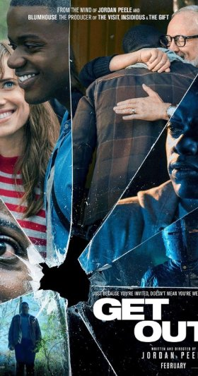 A&E, 104, Reel Talk- Get Out, Chauncey James, Photo Credit- IMDb Movie Poster