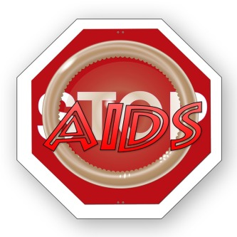Icon Bless You Stop Aids Awareness Symbol Support