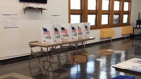 Opinions_Oliver_Voting booths in Cleveland Heights_Tim Evanson_flickr