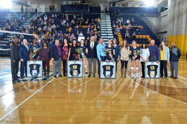 NCAA WOMENS VOLLEYBALL:  NOV 04 Wofford at UNC Greensboro