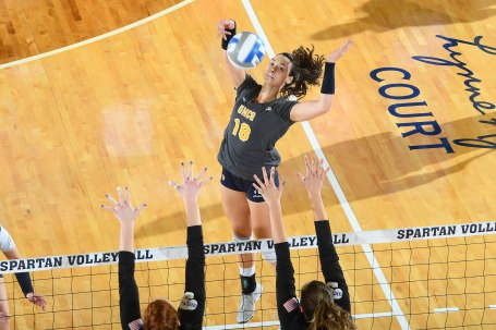 NCAA WOMENS VOLLEYBALL:  SEP 15 High Point at UNC Greensboro
