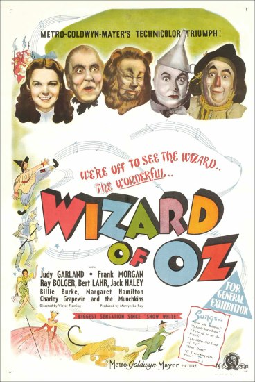 This Week in A_E, Wizard of Oz on broadway, wikimedia commons