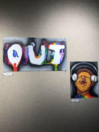 A&E, 411, UNCG Pride Art Exhibit, Chelsea Korynta, PC_ Chelsea Korynta
