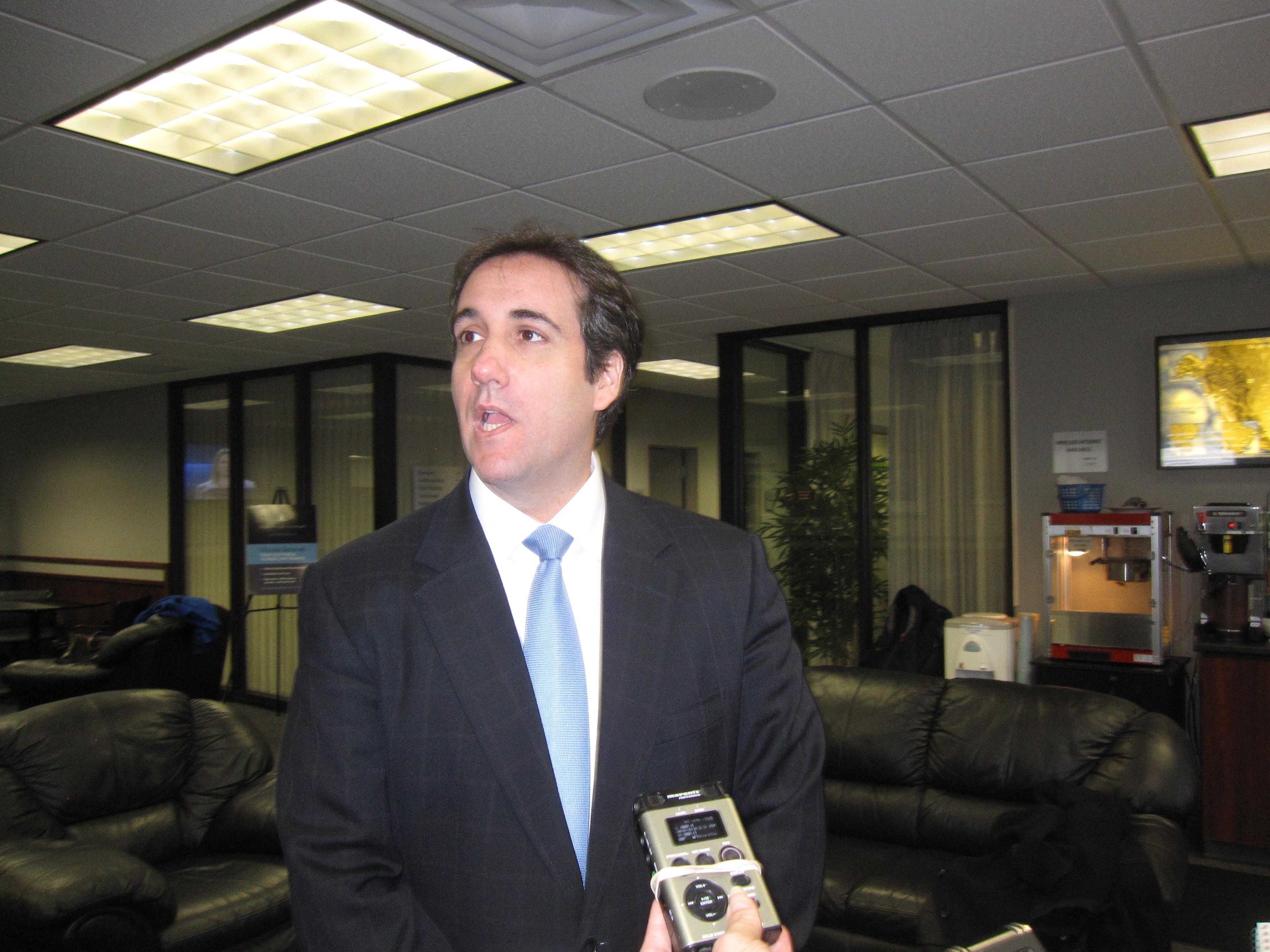 Seeking A Delay, Cohen Says He'll Plead The Fifth In Daniels Case