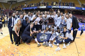 NCAA BASKETBALL:  MAR 05 ETSU vs UNC Greensboro